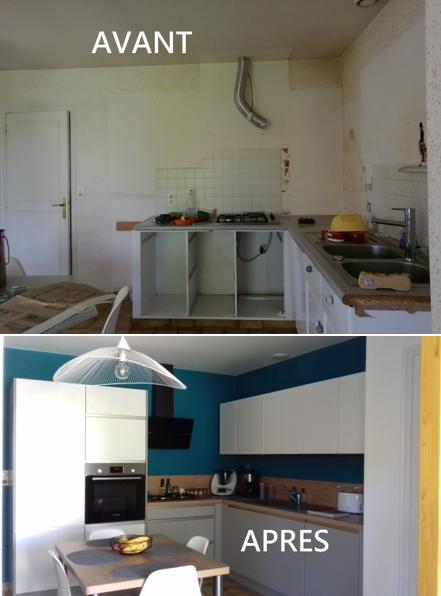 L Atelier Peinture Decorateur Une Cuisine Plus Lumineuse Et Moderne